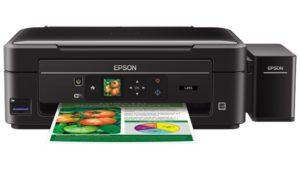 Reset Epson L395 e L495